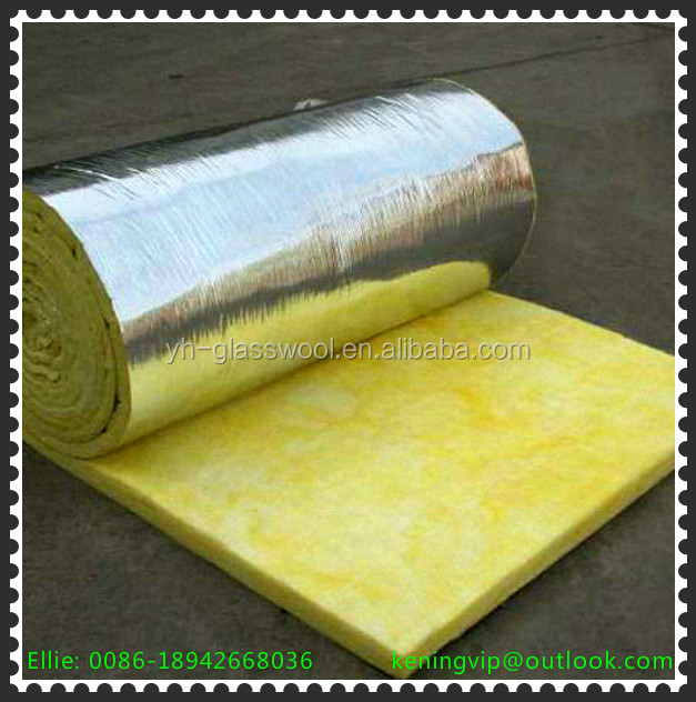 Fiberglass Wool Building Insulation Materials For House