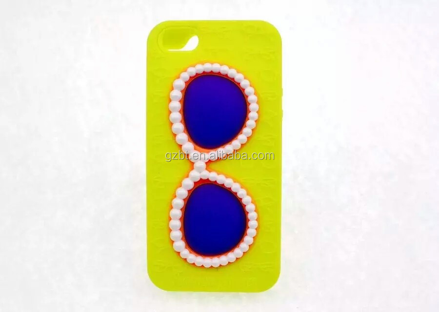 The Glasses colorful mobile phone case cover for IPHONE4/5