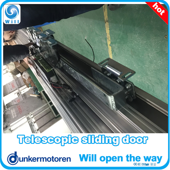 Chinese Most Fast Telescopic Sliding Door System Best telescopic sliding door operator