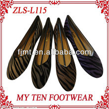 2013 New Fashion Zebra Print Casual Shoes