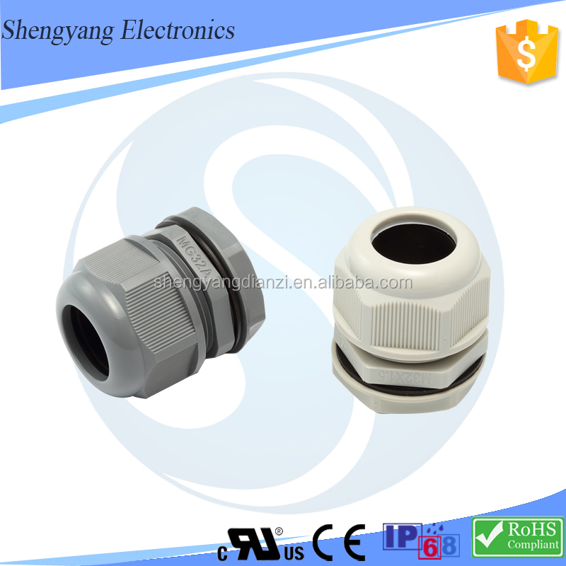 Nylon Cable Gland Ip68 Pvc Cable Connector