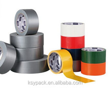 Colored rubber based Silver PVC Duct tape