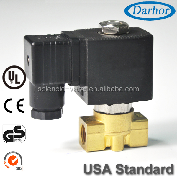 Micro DC 12 or 24 volt dc water solenoid valve