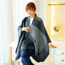Fashion winter wear thick long size cashmere shawls for women kashmir wool shawl infinity