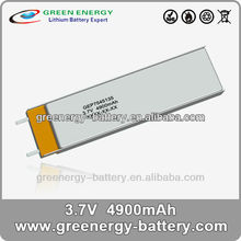 3.7v lithium polymer battery cell GEP7545135 li polymer battery 3 7v lipoly batteries
