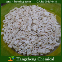 Chemical calcium chloride anhydrous anti - freezing agent Hot Sale