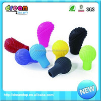 New fashion silicone gear cover fancy shift knob
