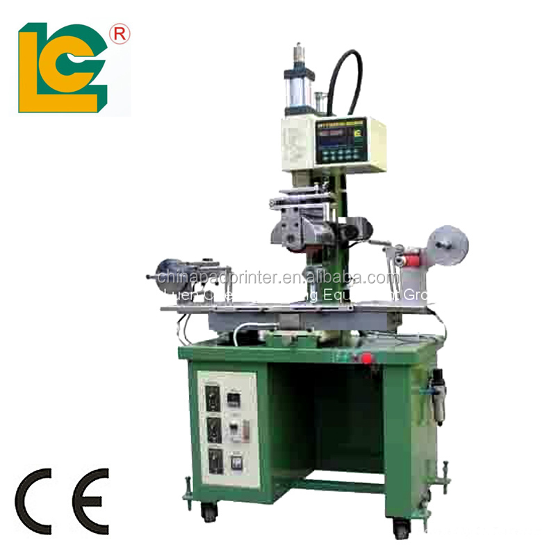 Plane/Cylindrical hot stamping foil machine plastic embossing machine TR-350