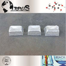 Top quality and free sample Silver White Metal Price Mg 99.98% Magnesium Ingot