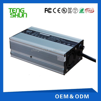 TengShun high power 48v 10a lead acid battery charger golf cart battery charger 48v