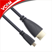 VCOM direct factory sale 3FT 15FT 1080P HD high speed TV micro HDMI to HDMI cable