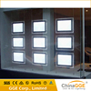 Multiple led ceiling light box frame with acrylic light sheet