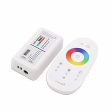 2.4g rf remote control rgb w touch led strip controller