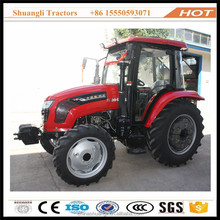 agriculture machinery equipment 80hp 4wd tractors farming usage