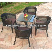 Exclusive new design Grey coffee chair Rattan outdoor furniture(YPS021)