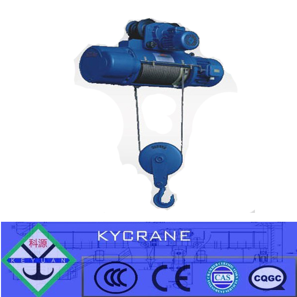 electric wire rope lifting hoist 1000kg