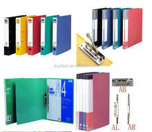 High quality Plastic File Folder, A4 Plastic File Folder, metal clip file folder