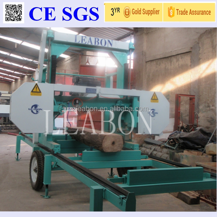 Wood Logs Used Horizontal Portable Sawmill for Sale