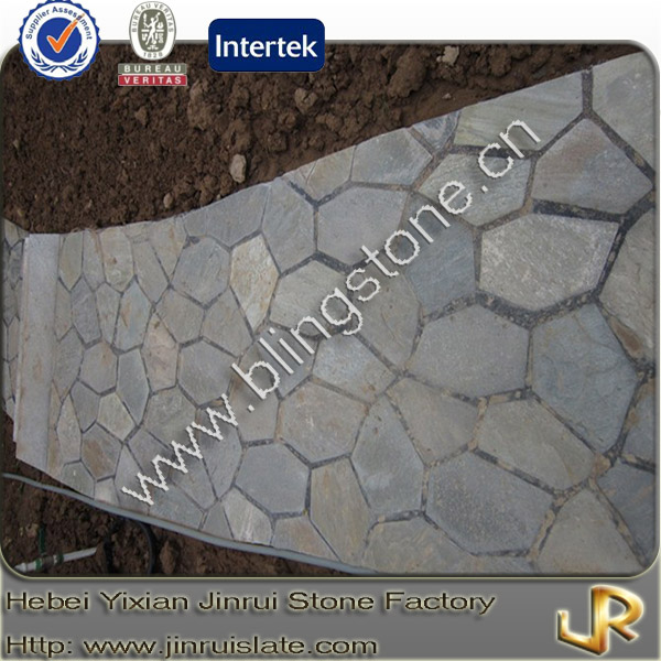 Decorative natural slate flagstone lowes