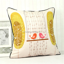 printed decorative pillow