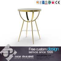 Lovely elegant design round glass coffee table