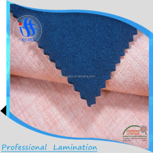 imitation linen waterproof breathable 3 layer softshell fabric