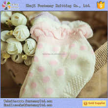 machine for manufacturing non slip floor happy young girls tube socks
