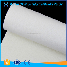 Polyester nonwoven needle punched air filter cloth roll