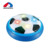 Air power soccer disk plastic floating kids football toy with light