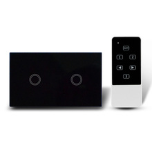 US/AU RF remote control 2gang 1way light WiFi control switch