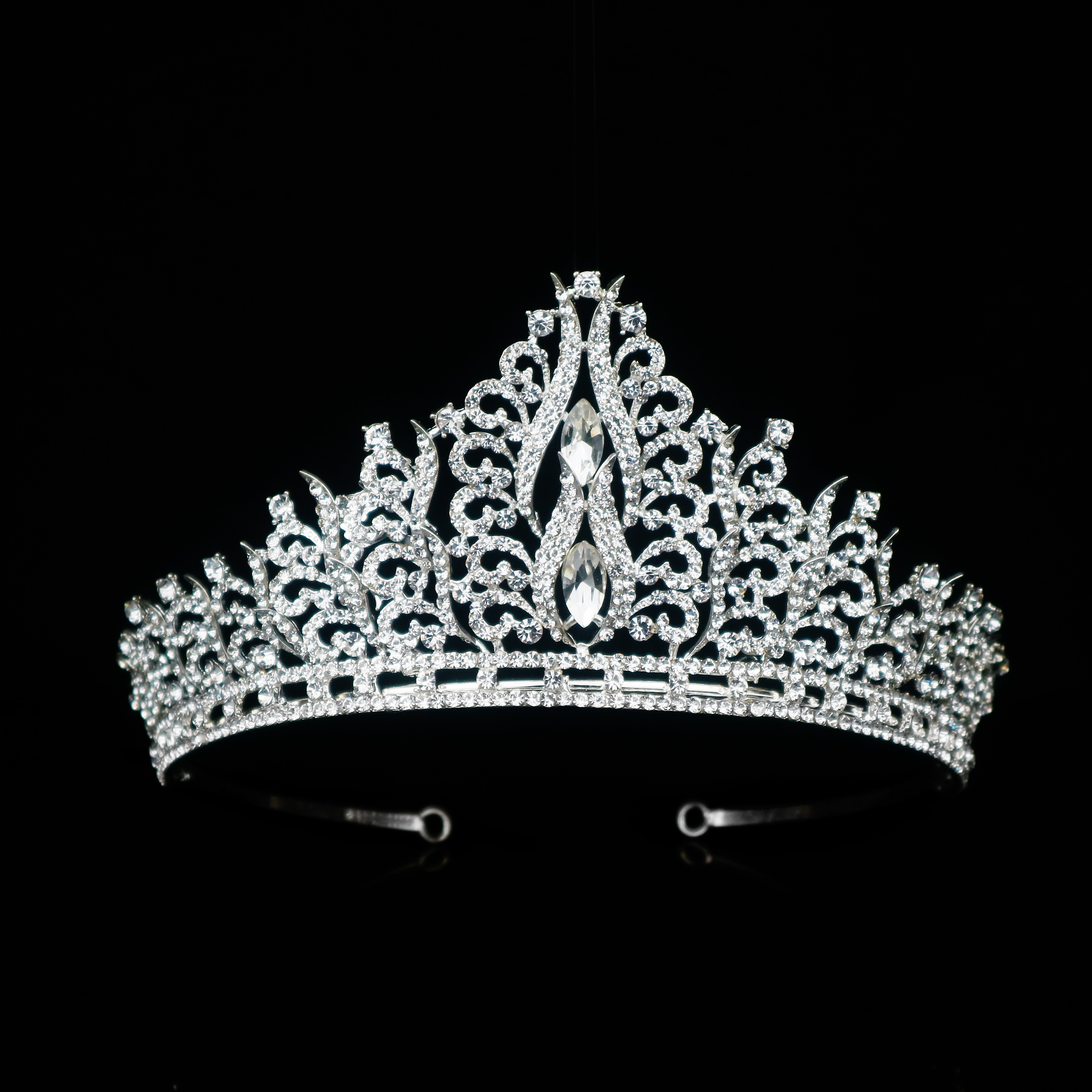 Wholesale Rhinestone Bridal Ballet Tiara Queen Baroque Crystal Wedding <strong>Crown</strong> for head