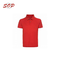 No Label Plain Buttons Guangzhou Polo Shirt