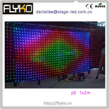 New Design Video Vision LED Curtain for Stage Decoration