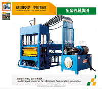 Made in China hydralic pressure lightweight colour paver interlocking brick / paving stone / hollow block making machine