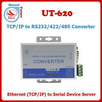 TCP/IP to RS232/RS485/RS422 Ethernet to serial converter UT-620 Serial Port Rs485/ Rs232