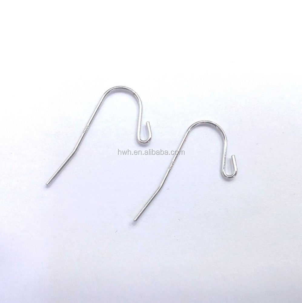 H955 Silver Fashion Ear Hook Long Wire for Hanging Jewelry Earring