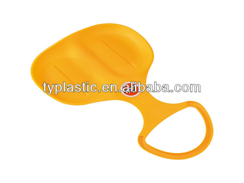 promotion product plastic snow sleds for adults