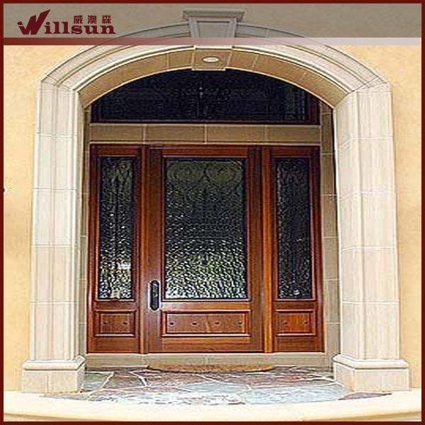 Disenos Puertas Frente Casa 25: Las Puertas De Casa Residencial Moderno Frente A Las