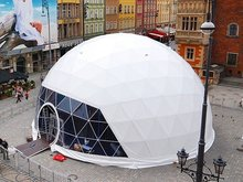 Geodesic Steel Large Dome Tent For Events