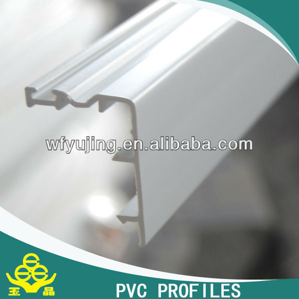 All series of PVC profiles (60,80 and 88)--color/ co-extruded 80 inter lock
