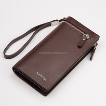 New Design men's pu leather wallet, New Style wallet