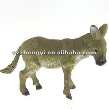 plastic toy donkey/small animals plastic toys/plastic toy for kids