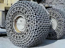 Skid steer loader tire snow chains for 29.5-25 made in china