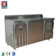 Commercial Stainless Steel Under Counter Refrigerator Top Fridge With Caster