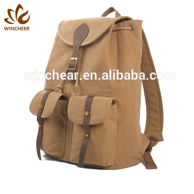 Factory production Chinese hipster backpack backpacks for college students