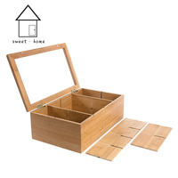 HQ-IS002 fast delivery hot sale new type wooden tea packaging box