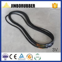 China factory rubber v belt for machines classical type, narrow type and banded type