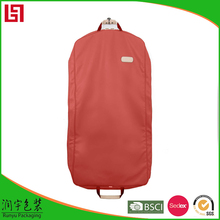Blue woodpulp laminated PP nonwoven Lint free travel garment bag