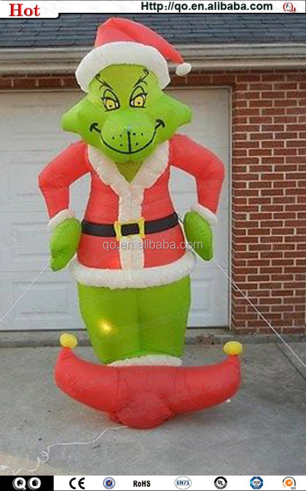 2014 Newest design outdoor christmas grinch inflatables for sale