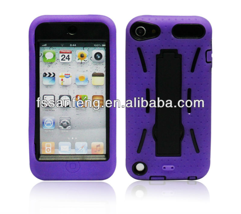 Kickstand Phone Shell,The Robot Phone Case,Covers For Ipod Touch 5
